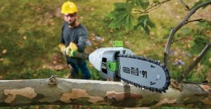 Best Electric Pole Saws For Tree Trimming: Long Reach