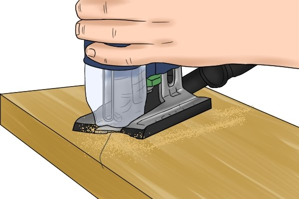 How to Use a Jigsaw to Cut Sheet Metal, Wood, & Tile