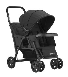 Joovy Cottage Too Graphite Stand-On Tandem Baby Stroller